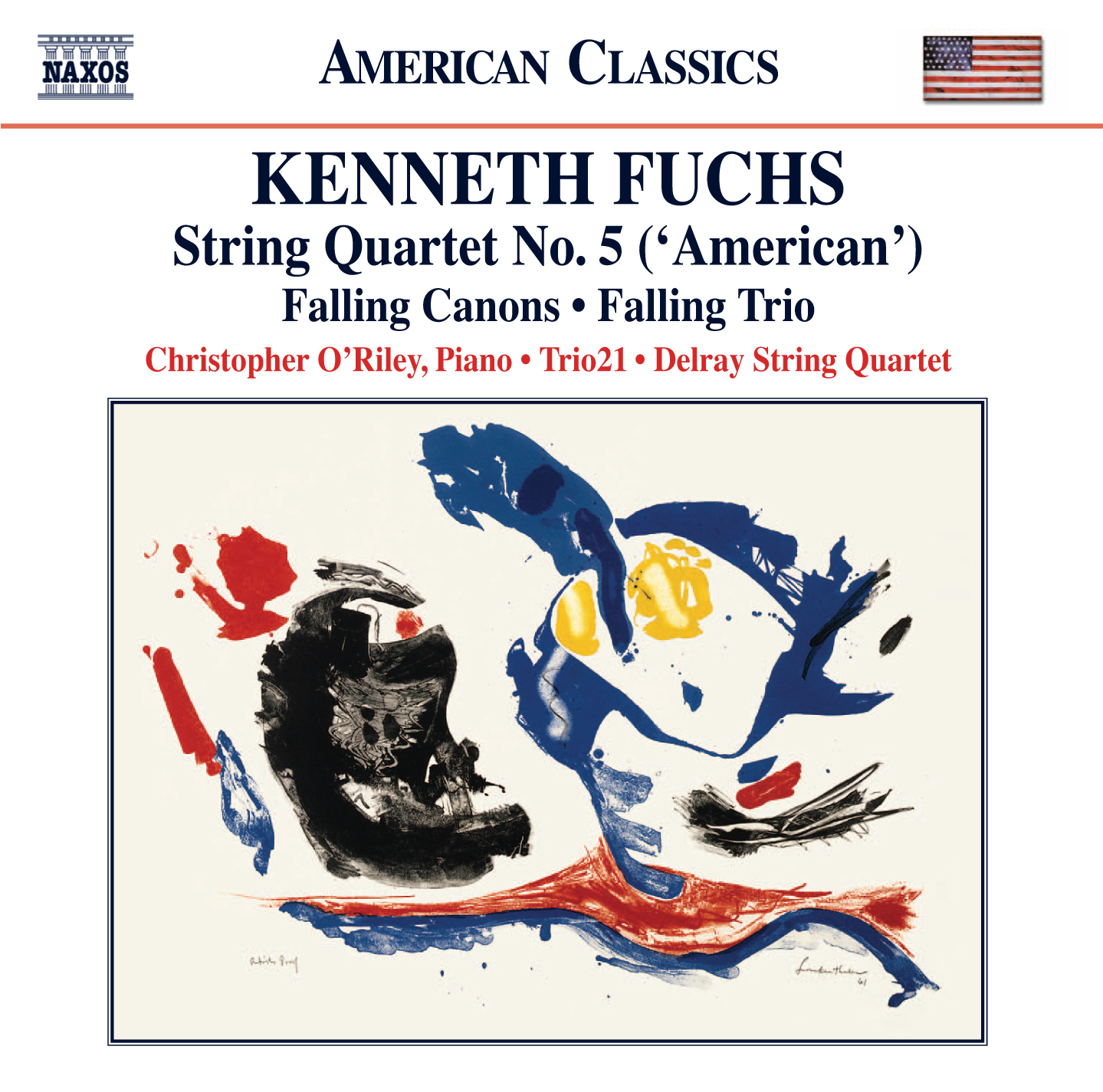 Fuchs:  String Quartet No. 5, 'American' - Falling Canons - Falling Trio