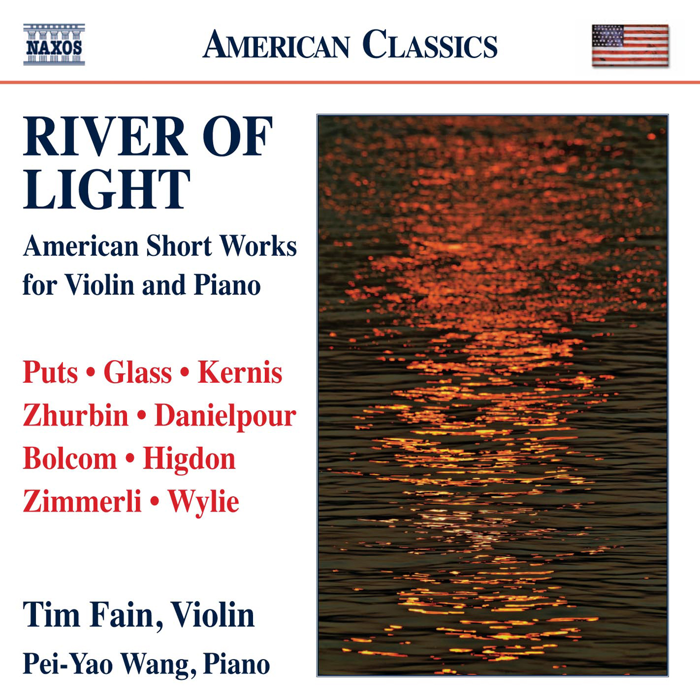 River of Light: American Short Works for Violin and Piano