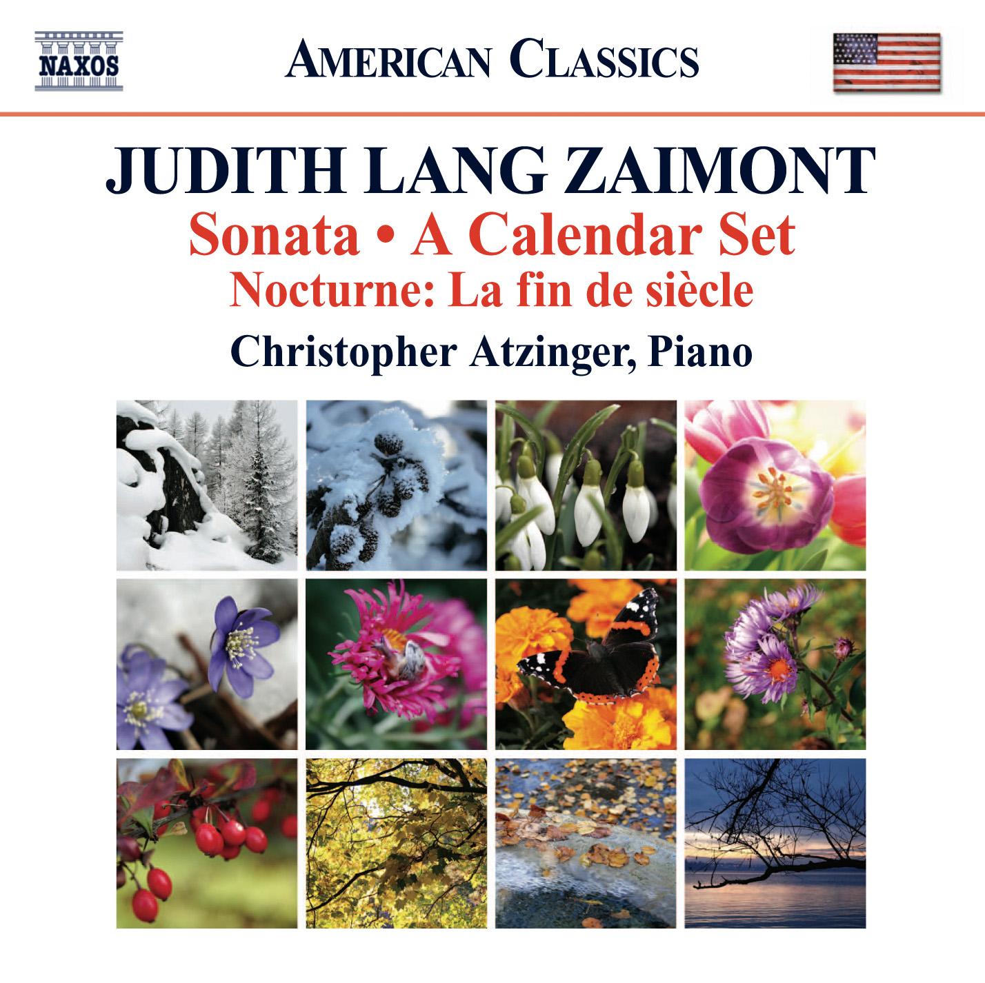 Zaimont: Sonata - A Calendar Set