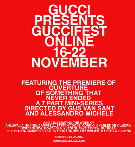 Gucci - Ouverture Of Something That Never Ended