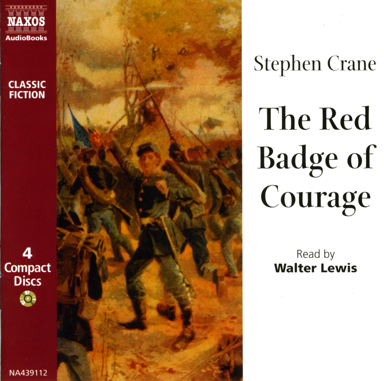 an analysis of imagery in the red badge of courage by stephen crane