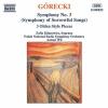 "Symphony No. 3, Op. 36, ""Symfonia piesni zalosnych"" (Symphony of Sorrowful Songs): III. Lento - Cantabile semplice"