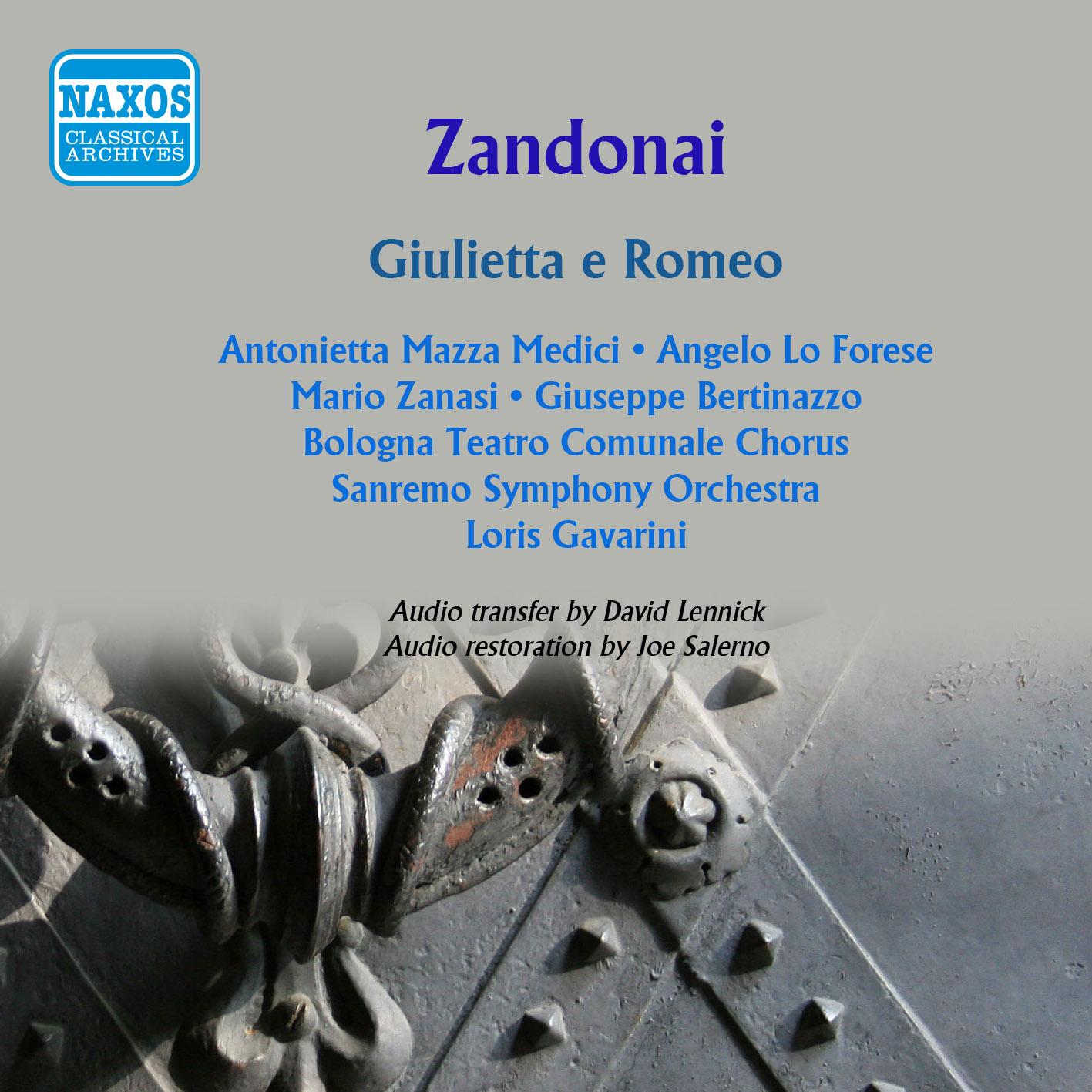 Zandonai: Giulietta e Romeo (1961)