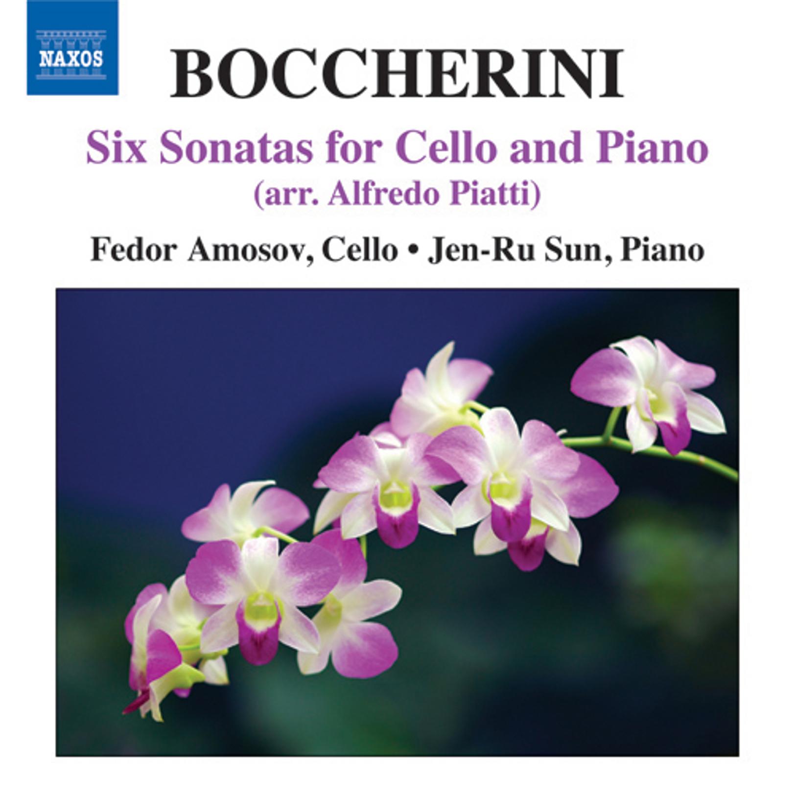 Boccherini: 6 Cello Sonatas (arr. Piatti)