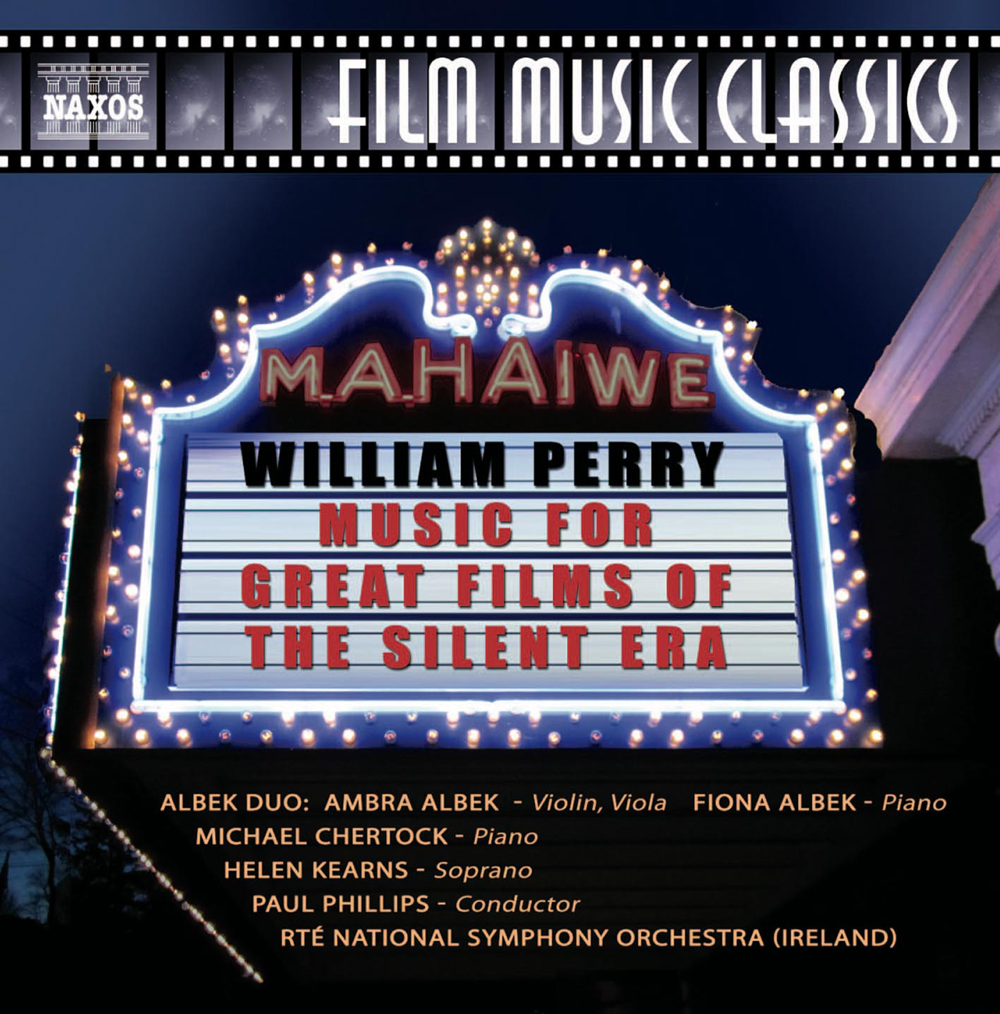 Perry: Music for Great Films of the Silent Era, Vol. 1