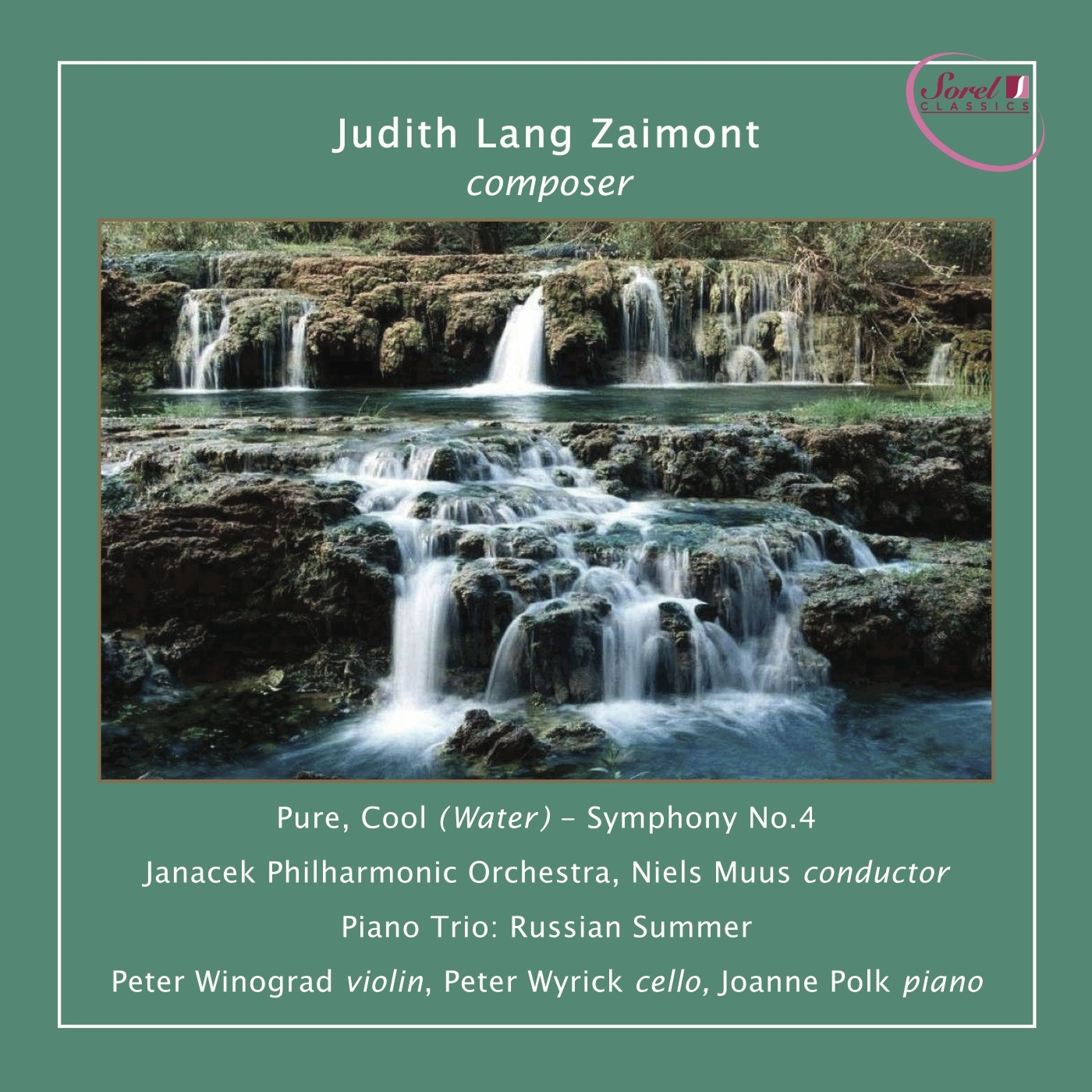 """Zaimont: Symphony No. 4 """"Pure, Cool (Water)"""""""