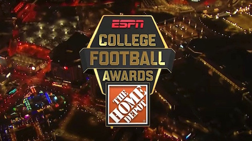 """Chuxx Morris / """"What We Came For"""" Featured In The Home Depot College Football Awards On ESPN"""
