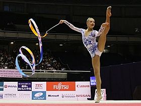 Melitina Staniouta at the Olympic Games