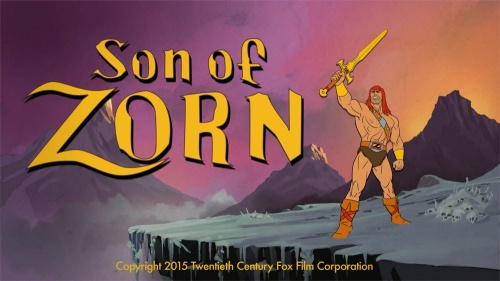 """SUN IS OUT"" featured in Son of Zorn promo"