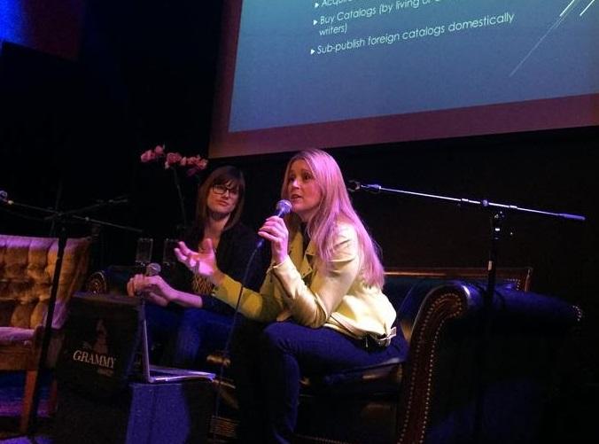 Atlas' Jennifer Blakeman & Kristen Bushnell Speak at Music Business Night School (With Special G