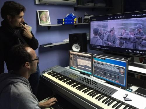Pablo Cervantes, new soundtracks