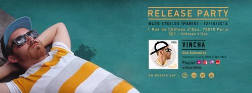 Vincha Release Party 12.10.16 à Paris
