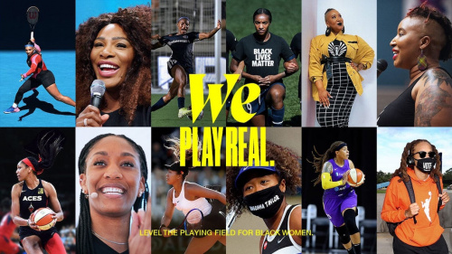"""Nike Celebrates Black Female Athletes in New 'We Play Real' Spot featuring """"Les Fleurs"""""""
