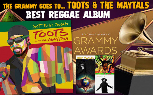 Toots and the Maytals Win Best Reggae Album at Grammy Awards 2021 for 'Got To Be Tough'