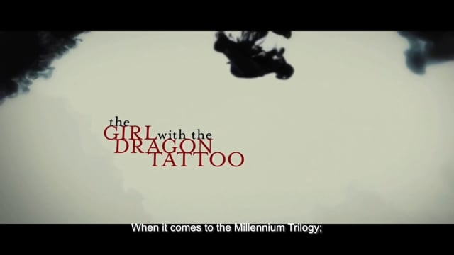 Jacob Groth - The Millennium Trilogy