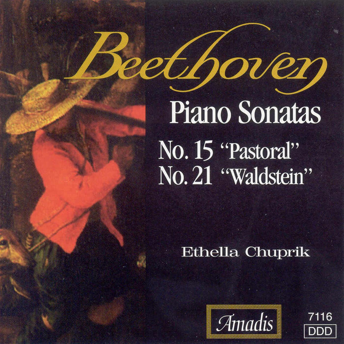 """Beethoven: Piano Sonatas Nos. 15, """"Pastoral"""" and 21, """"Waldstein"""""""