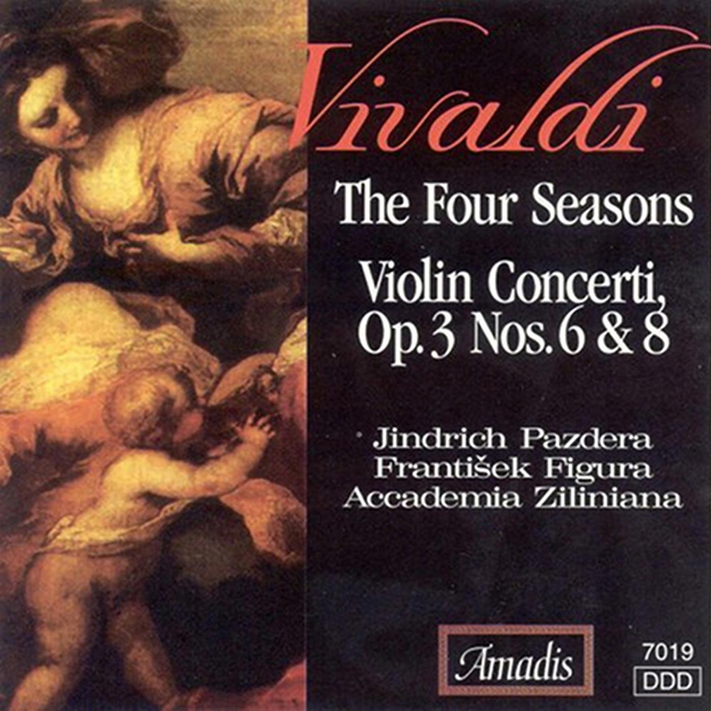Vivaldi: 4 Seasons (The) - Violin Concertos, Op. 3, Nos. 6 and 8