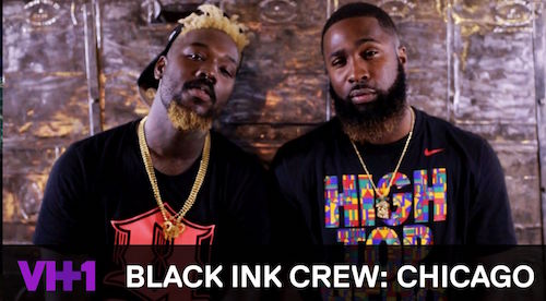 "We The Ghost / ""Voices"" Featured In Ep #205 Of VH1's Black Ink Crew: Chicago"