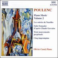 Trois mouvements perpétuels, for piano, FP 14: No 2, Très modéré