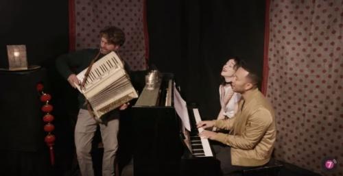 "St. Vincent, John Legend and Zach Galifianakis Cover Minnie Riperton's ""Lovin' You"" In Comedic Short"