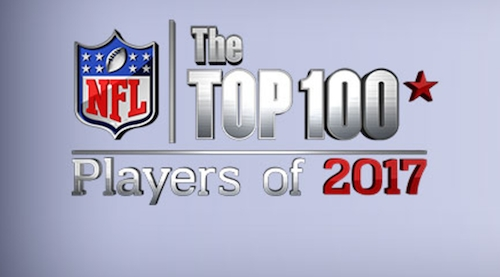 """Brandon Calhoon / """"I'm On Fire"""" Featured In Ep #1 Of NFL Network's Top 100 Players of 2017"""