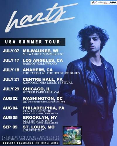 Harts - US Summer Tour