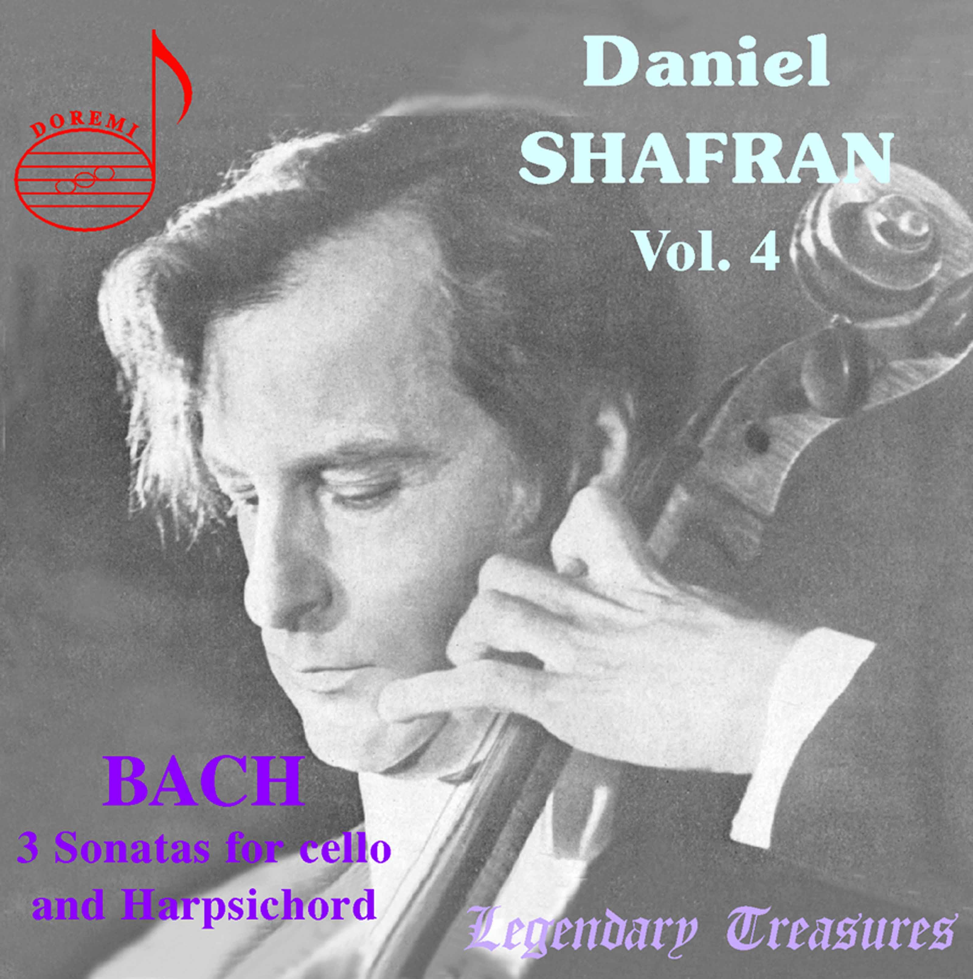 Daniel Shafran, Vol. 4: Bach Sonatas & Other Works