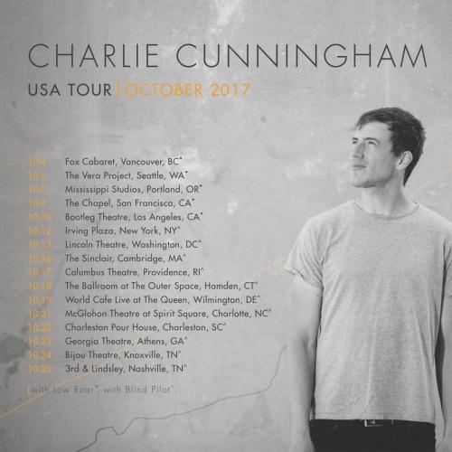 Charlie Cunningham - US Fall Tour