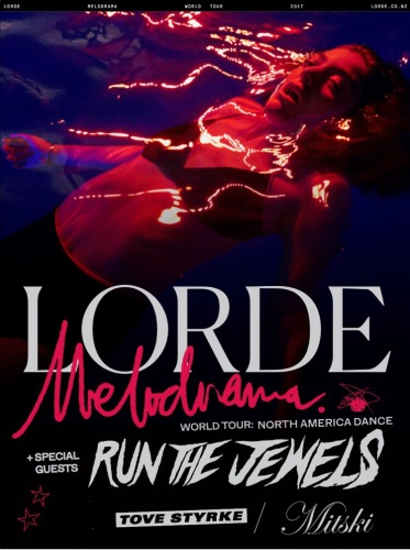 Run the Jewels and Mitski supporting Lorde's North America tour