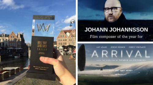 Félicitations à Johann Johannsson