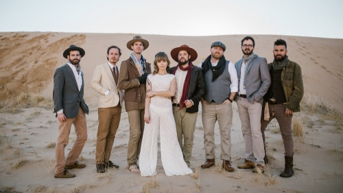The Dustbowl Revival Sign With Music Sales