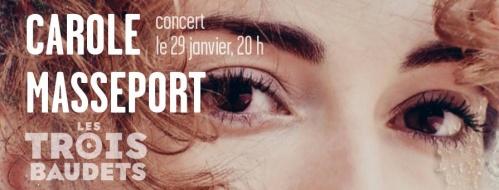 Carole Masseport en concert