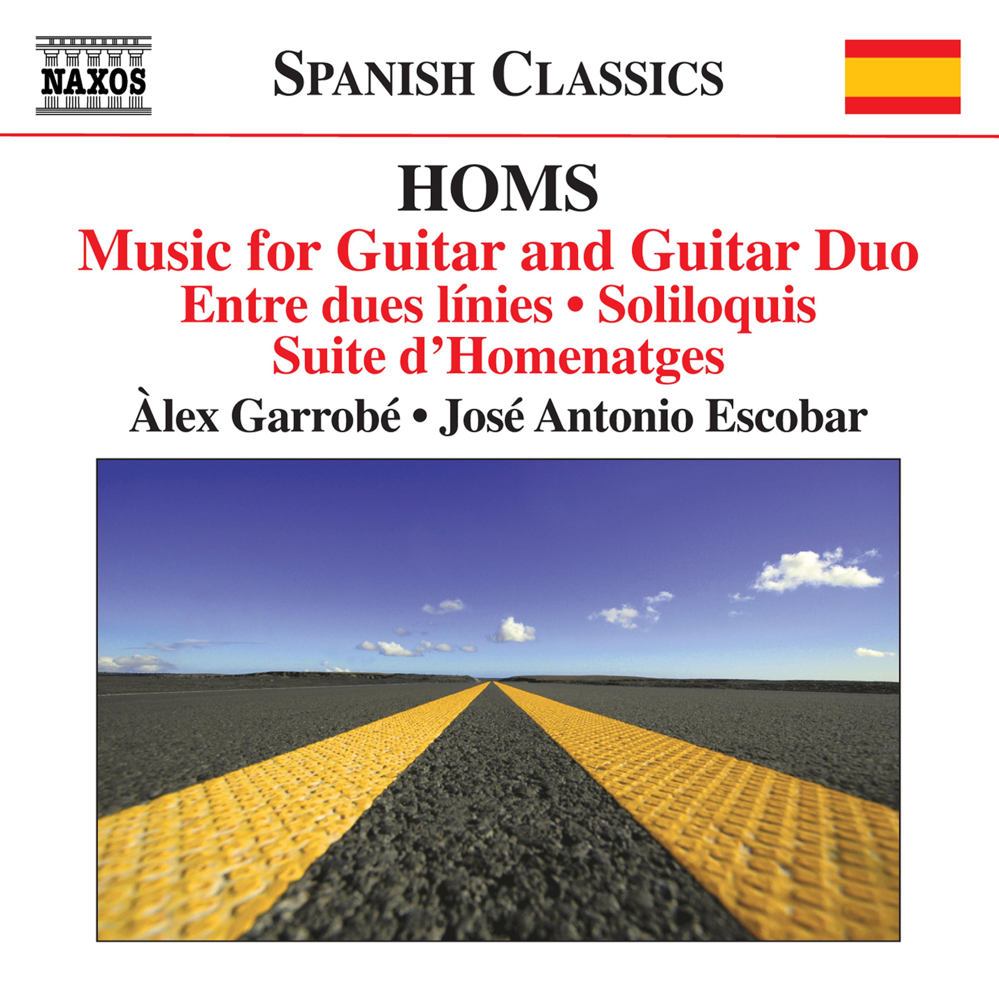 Homs: Music for Guitar & Guitar Duo