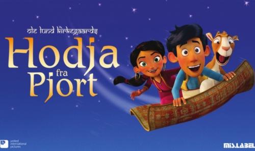 Premiere on Hodja fra Pjort with theme song by Sebastian
