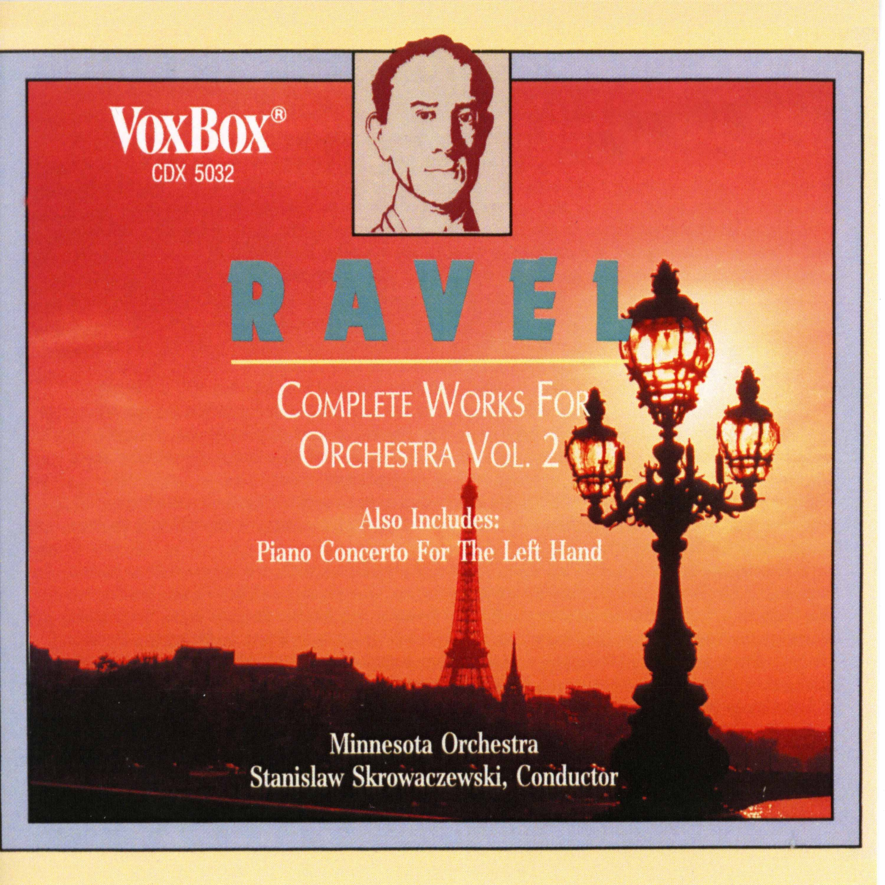 Ravel: Complete Works for Orchestra, Vol. 2