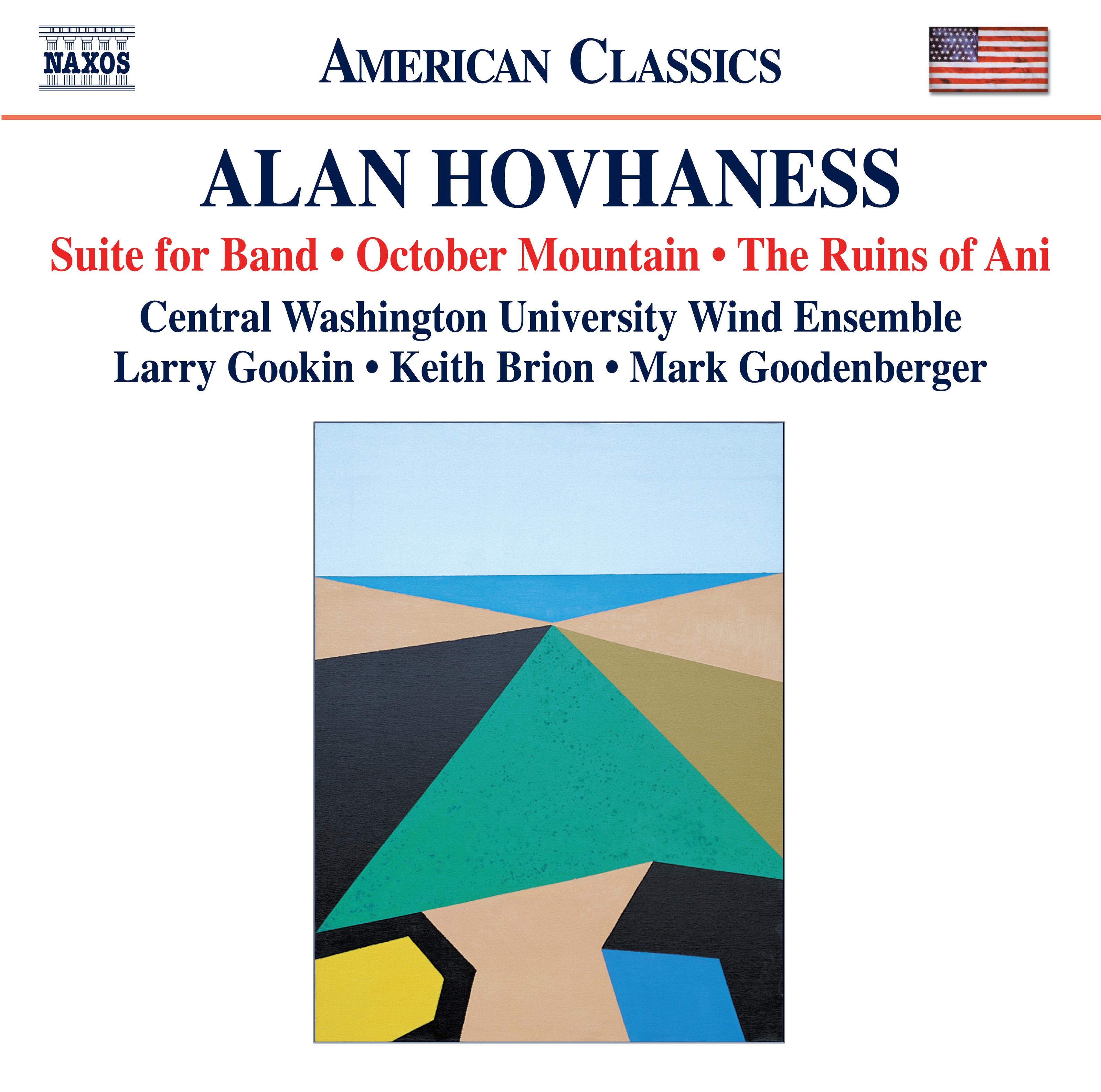 Hovhaness: Wind Music, Vol. 3
