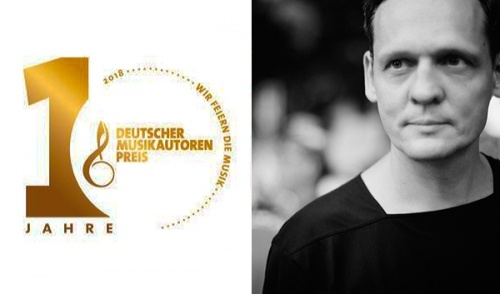 Carsten Nicolai Nominated for the German Music Author Award 2018