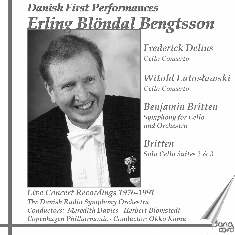 Delius, Britten & Lutoslawski: Works for Cello