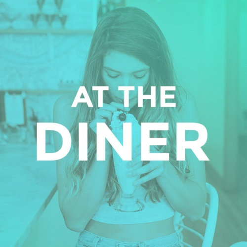 AT THE DINER