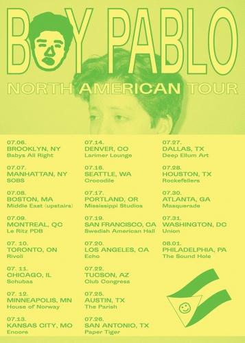 Boy Pablo announces US summer tour