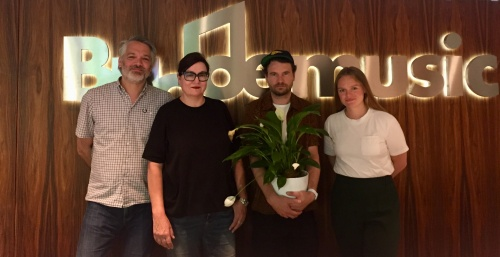 Budde Music Signs Florian Sievers AKA Das Paradies