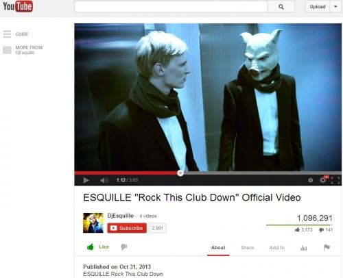 Esquille Video Hits Million-Plus Views