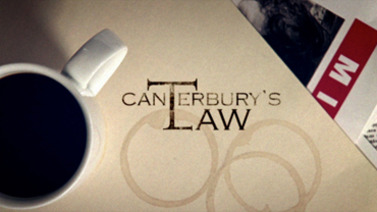 """Bitter Sweet / """"Dirty Laundry"""" in Fox's Canterbury's Law"""