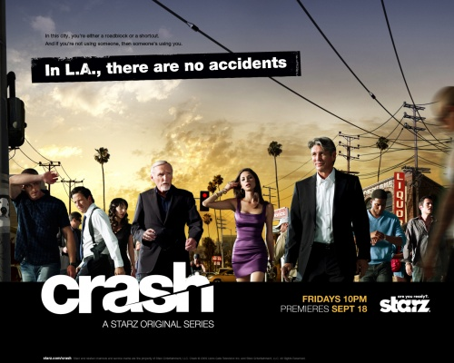 "Chimp Beams / ""Calm"" in Starz's Crash"