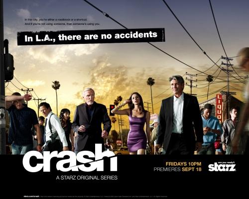 """Chimp Beams / """"Calm"""" in Starz's Crash"""