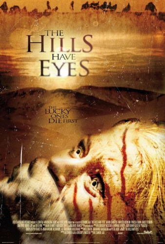 """Blue Eyes Woman"" in Feature Film The Hills Have Eyes"