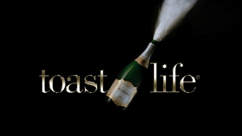 """Bitter Sweet / """"Toast To Life"""" Featured in Korbel Champagne Ad"""
