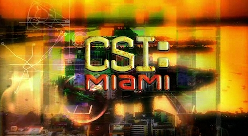 """Paco / """"Latinoamericano"""" in CBS' CSI: Miami"""