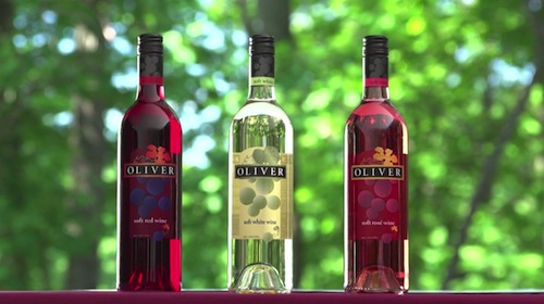 """Bitter Sweet / """"Heaven"""" in Oliver Winery Company Ad"""