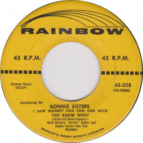 """Bonnie Sisters """"I Saw Mommy Cha Cha Cha With You Know Who?"""""""